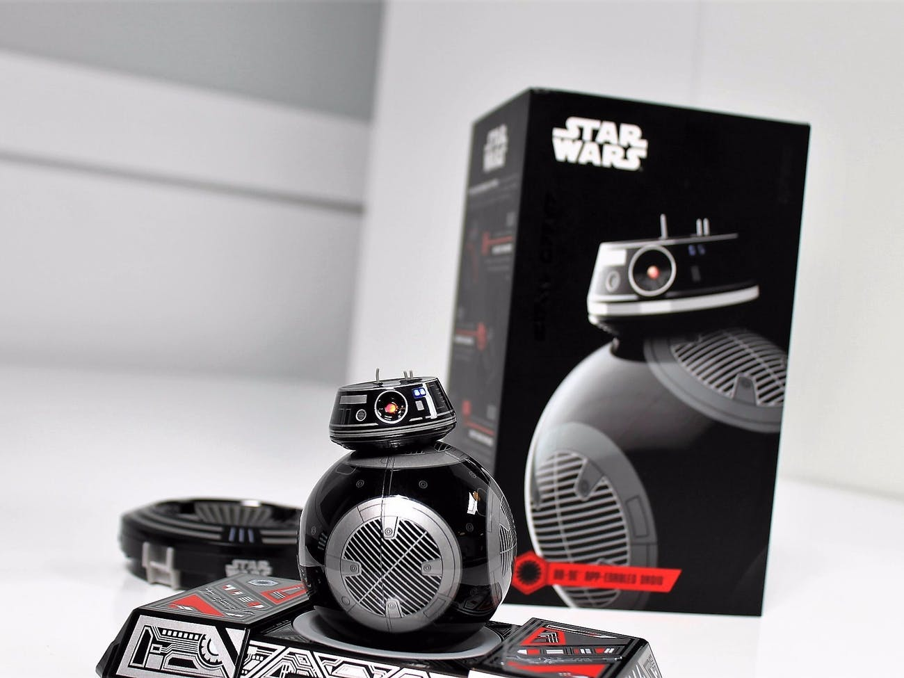 Sphero's BB-9E is quite the stylish droid.