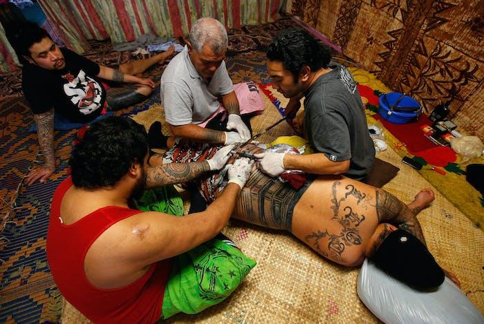 tattoo samoan pe'a