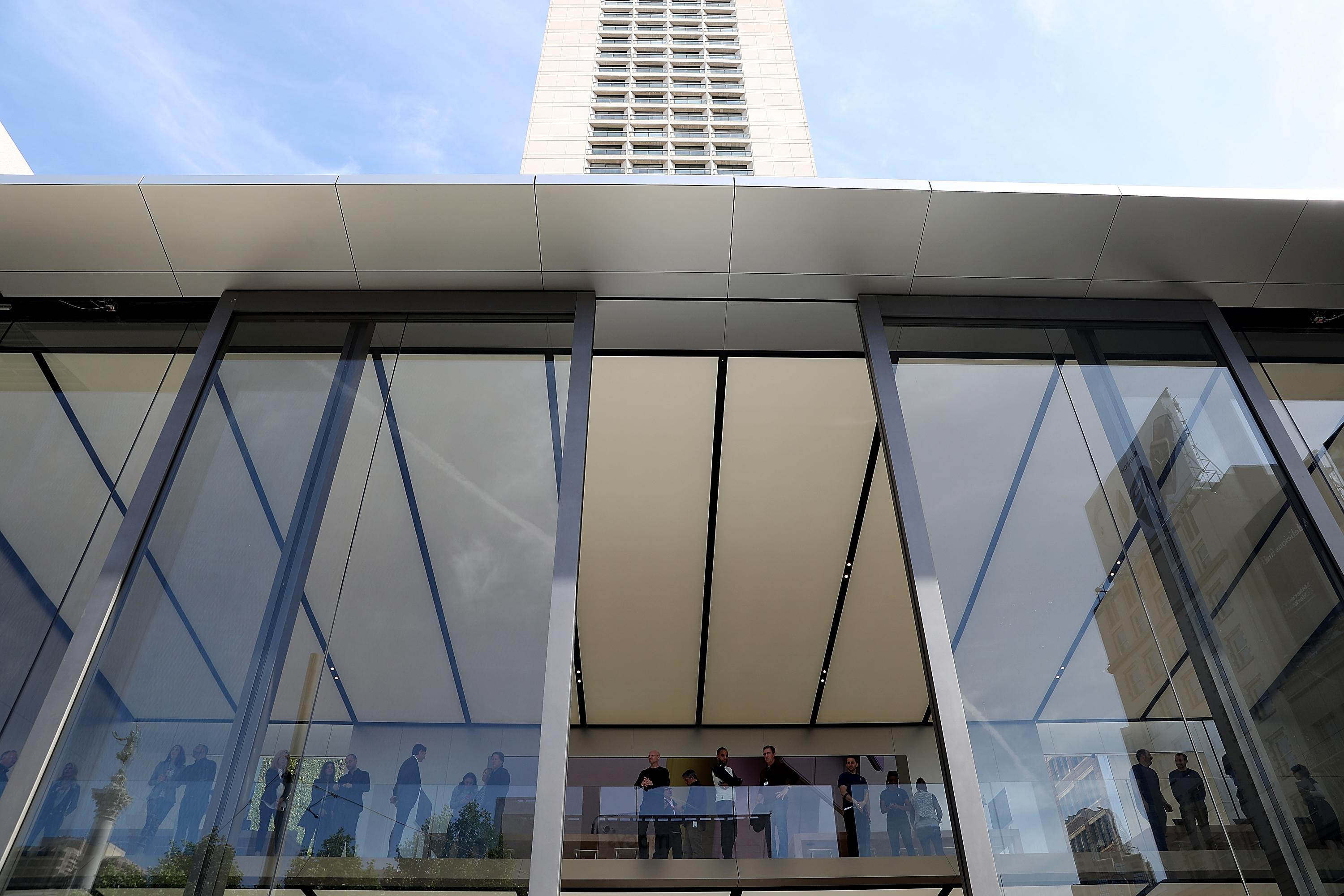 Finest Apple's New Flagship Store in San Francisco Looks Toward the  WX42