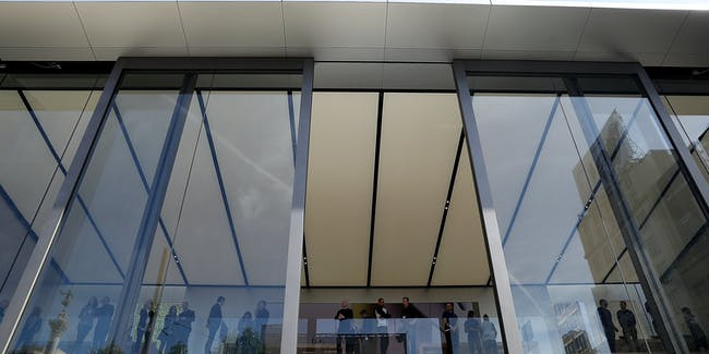 Apples New Flagship Store In San Francisco Looks Toward The Future