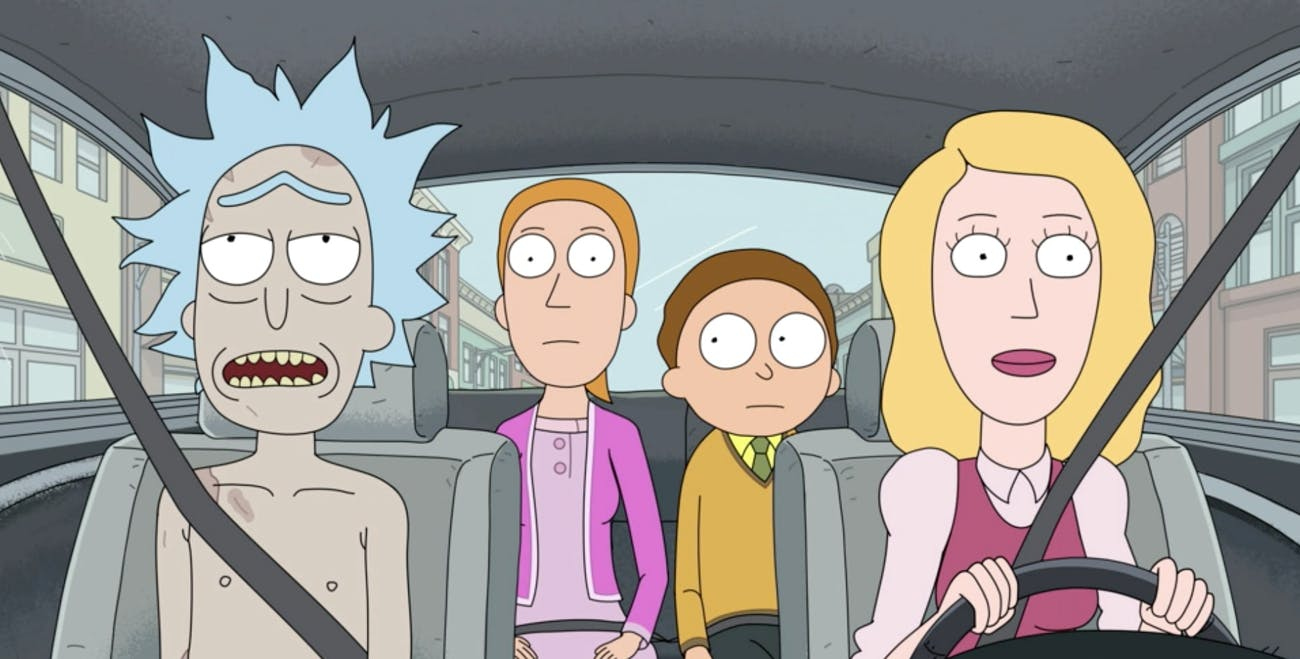 Rick is naked yet again on this show.