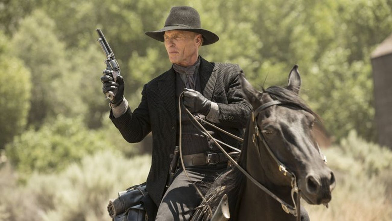 The Man in Black in 'Westworld'