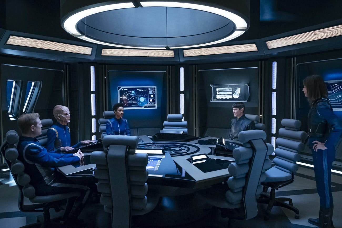 A reunion for the crew of the Discovery?