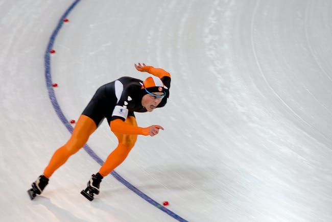 Dutch speed skater