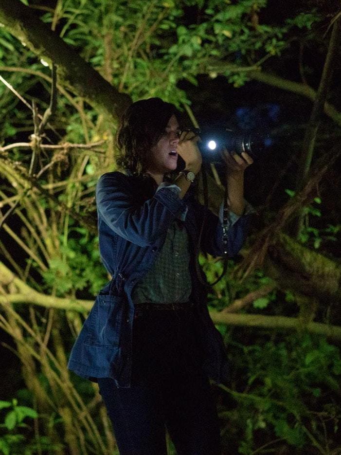 Callie Hernandez in Blair Witch