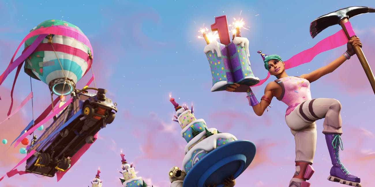 'Fortnite' 1st Birthday Celebration Rewards and Challenges ...