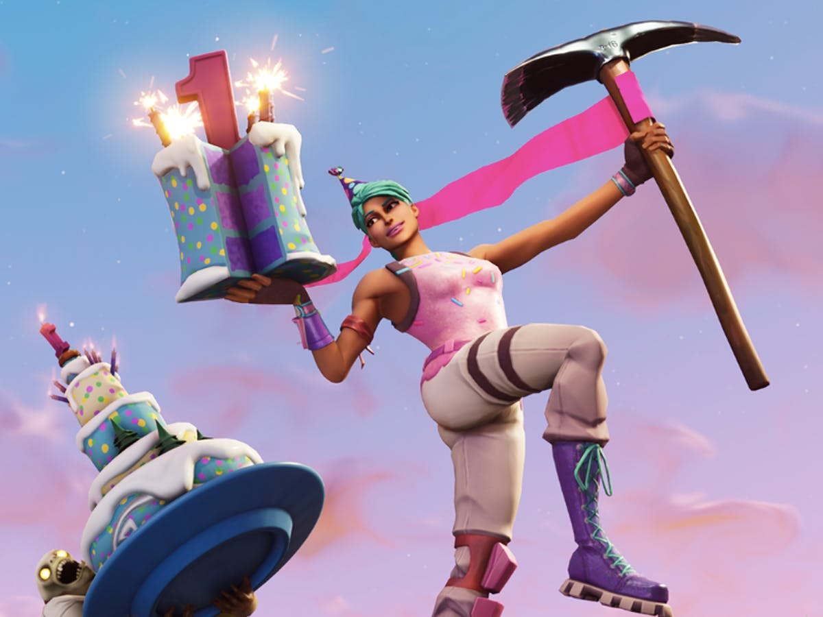 Fortnite 1st Birthday Celebration Rewards And Challenges Are Wicked