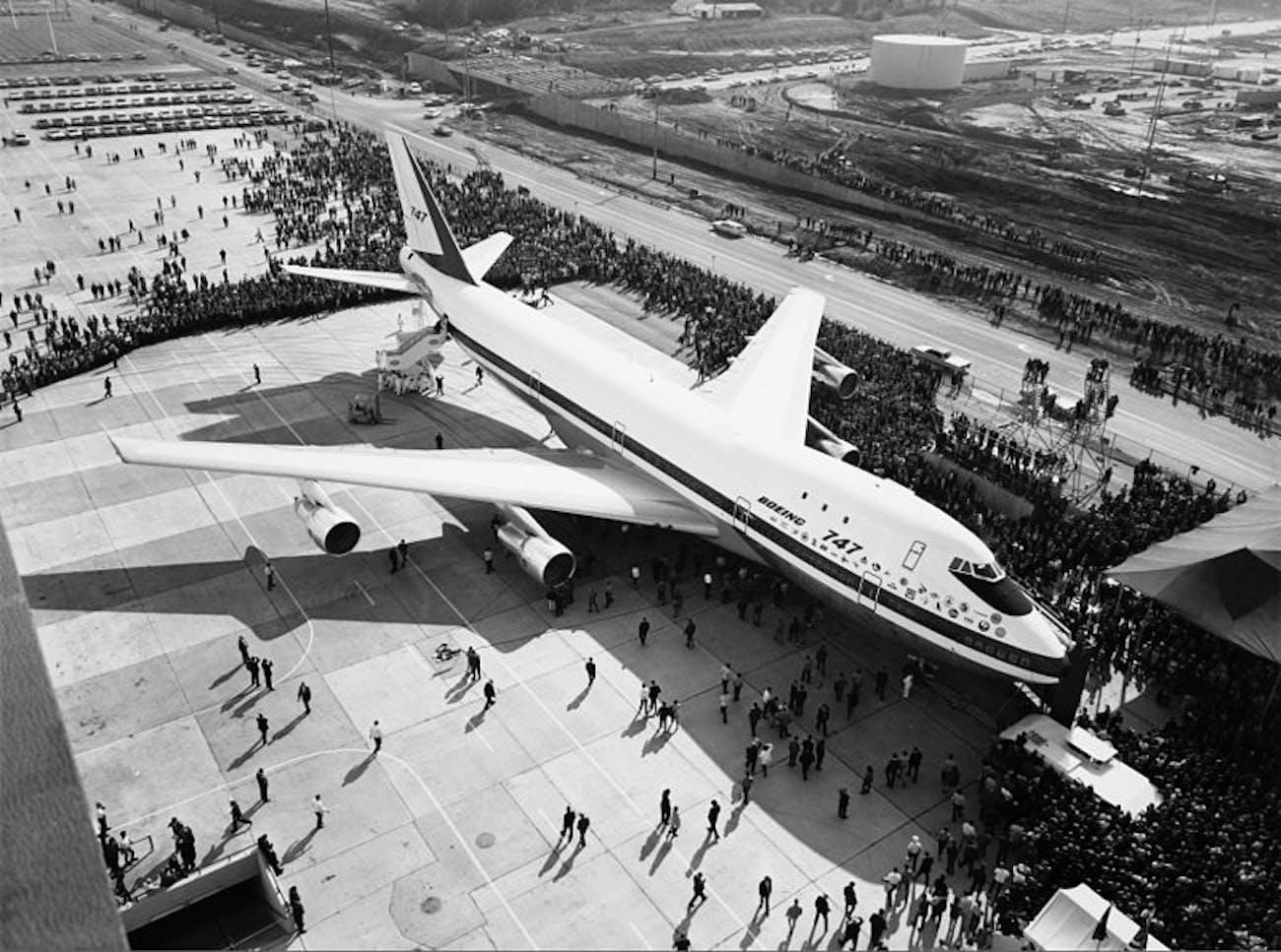 boeing prototype 747