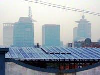smog solar light pollution renewables climate change clean energy