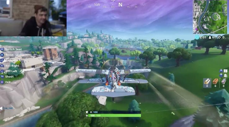 Fortnite Plane Locations Map Where To Find The X 4 Stormwing In