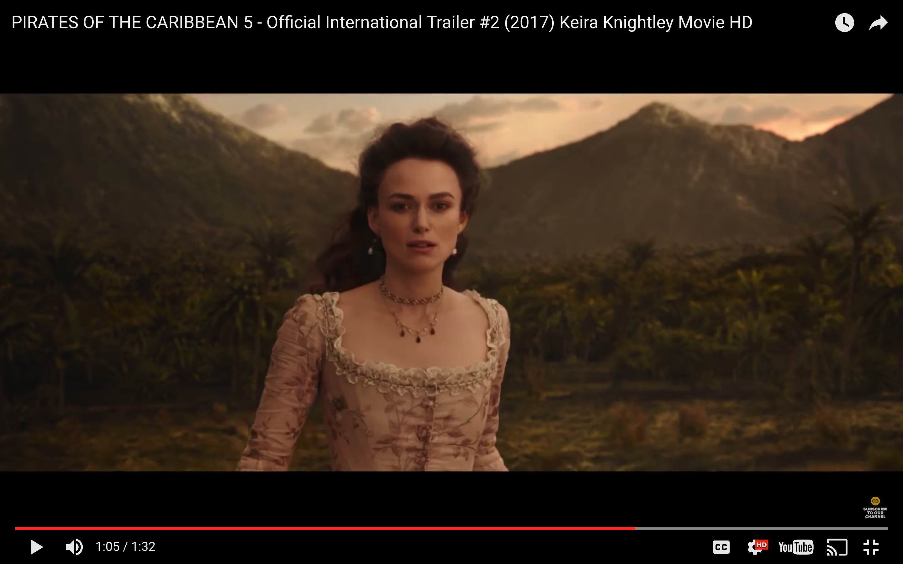 Is Keira Knightley making a Pirates of the Caribbean comeback