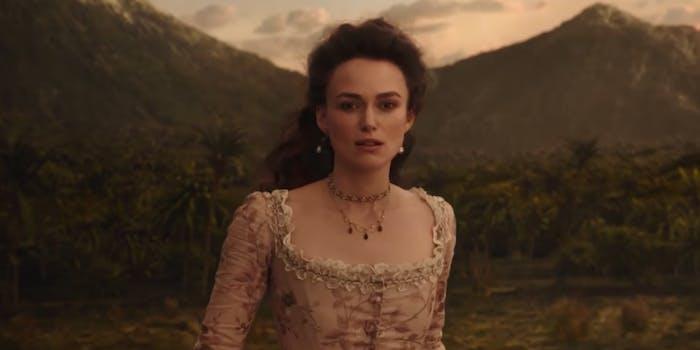 Keira Knightley New Trailer Elizabeth Swann