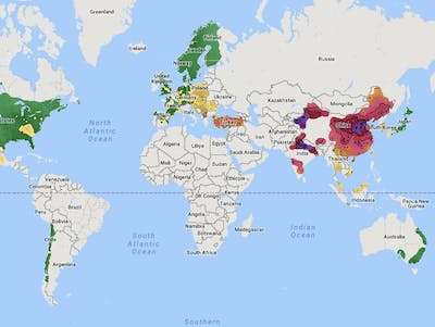 The Worst Air Quality in the World, Mapped