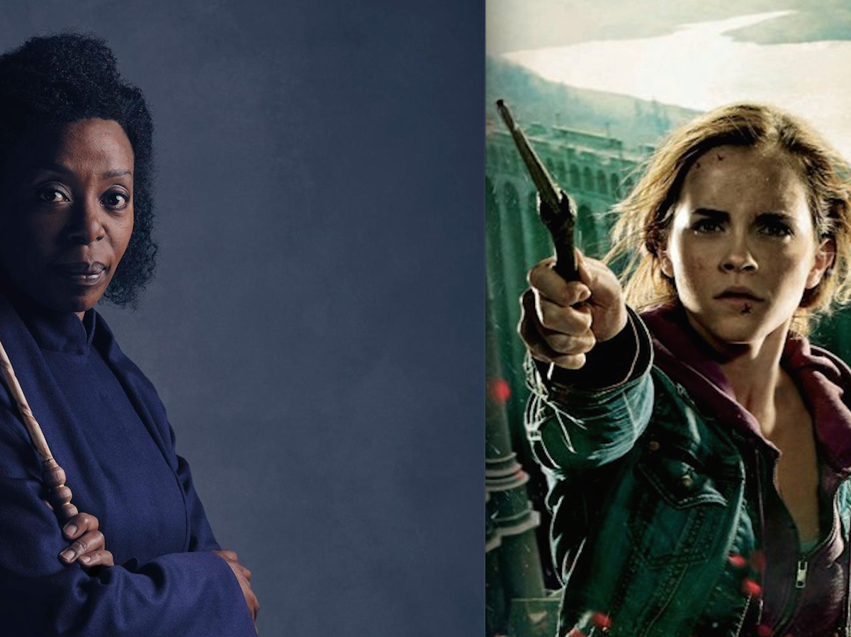 Which Hermione Granger is the Minister Of Magic?