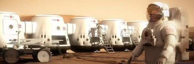 Mars One sketches