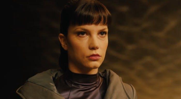 Sylvia Hoeks as Luv in 'Blade Runner 2049'