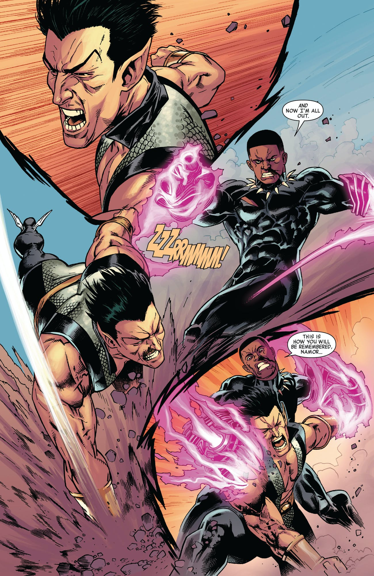 Namor Black Panther