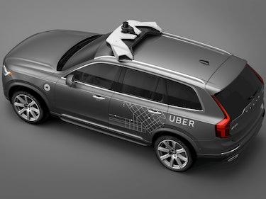 A Self-Driving Uber Vehicle Wasn't At-Fault in Arizona Crash
