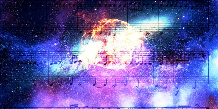 Music, space