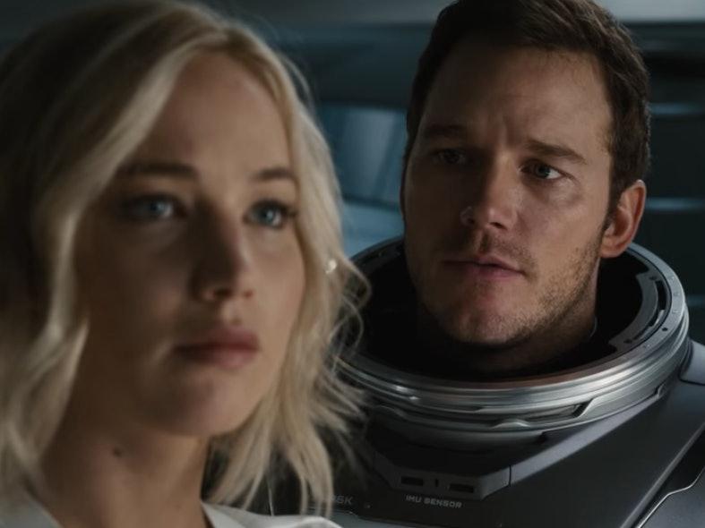 'Passengers' Trailer: Jennifer Lawrence-Chris Pratt Fan Fiction, In Space