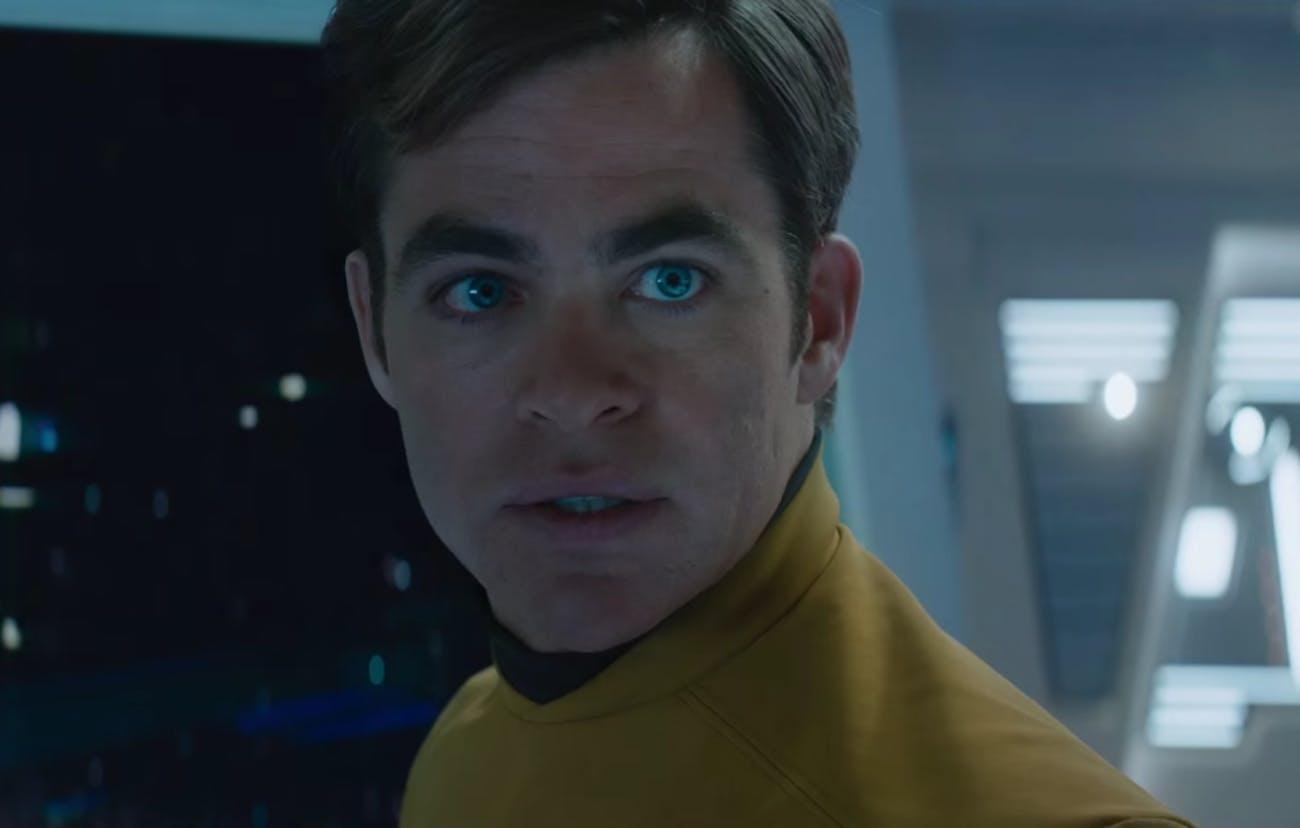 Chris Pine in 'Star Trek Beyond'