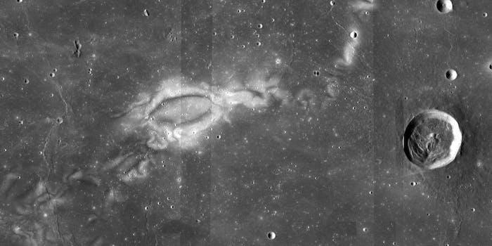 lunar swirls, moon
