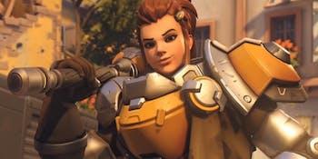 Brigitte, the 27th Hero of 'Overwatch'.