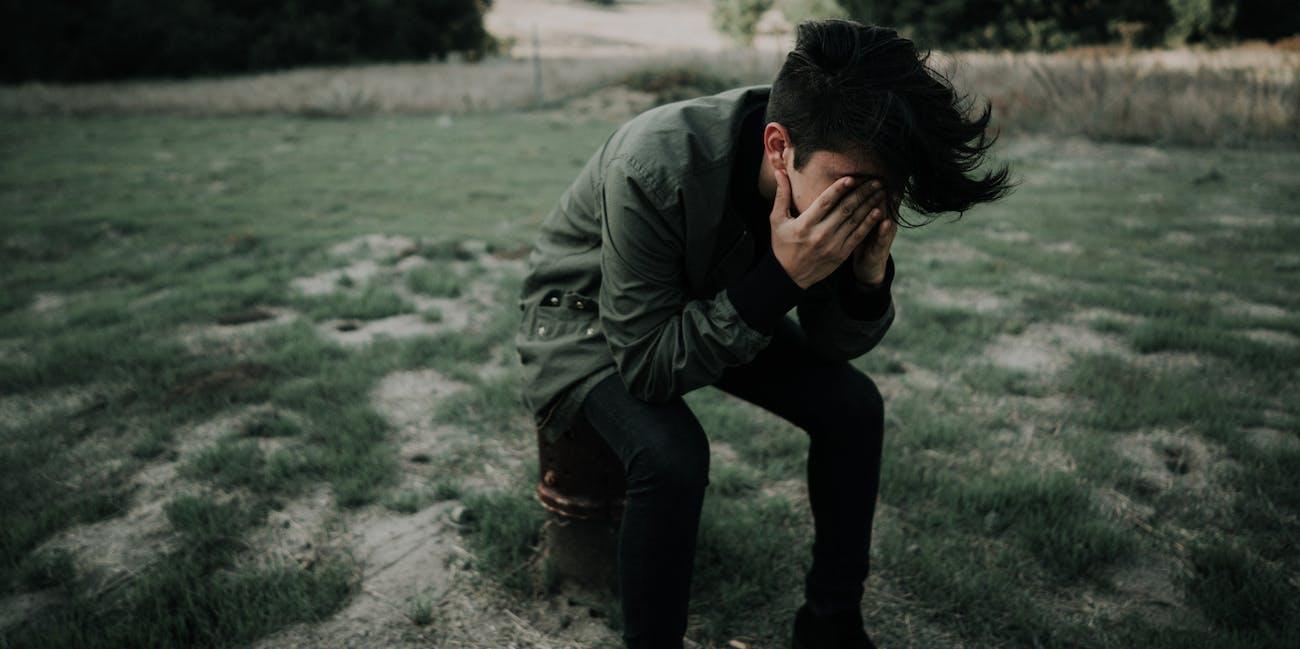 upset, depressed
