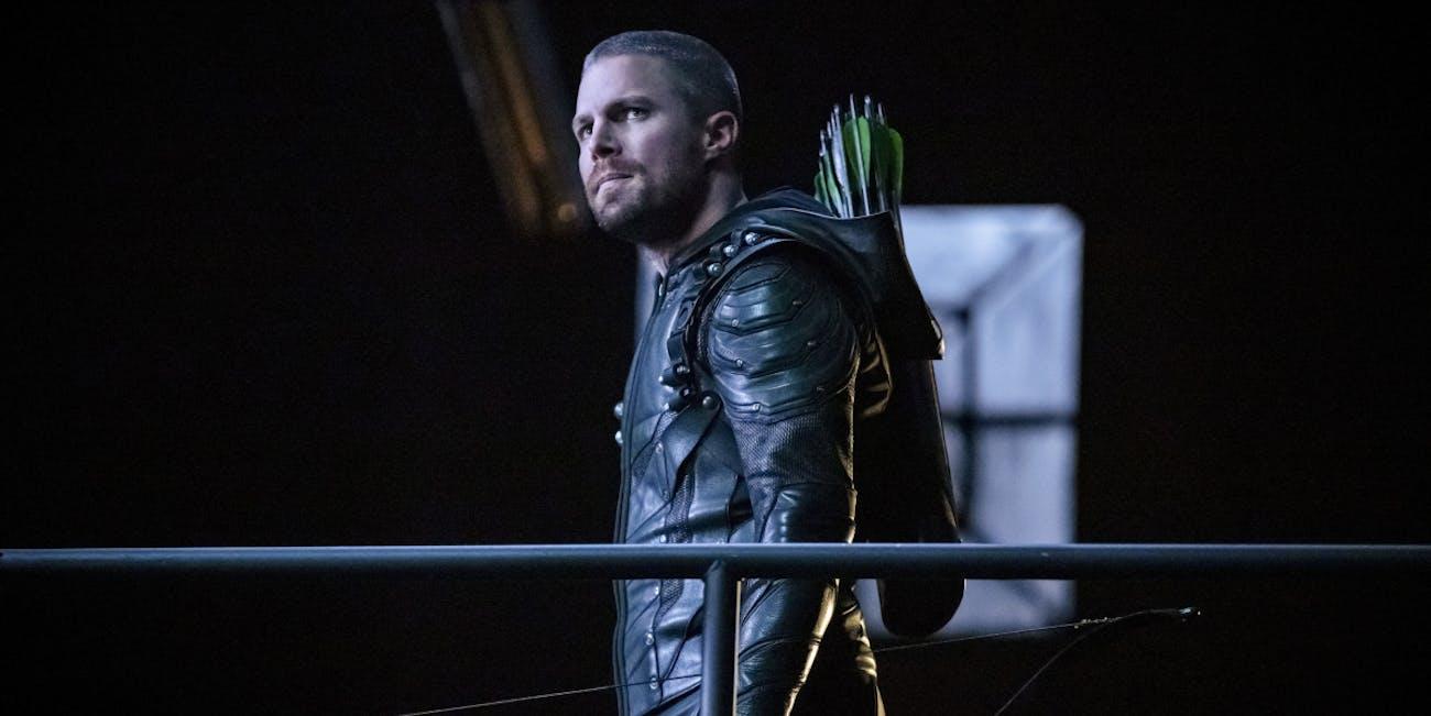 arrow season 7 episode 11 past sins oliver queen green arrow stephen amell