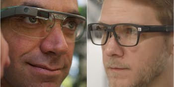 Google Glass vs Intel Vaunt
