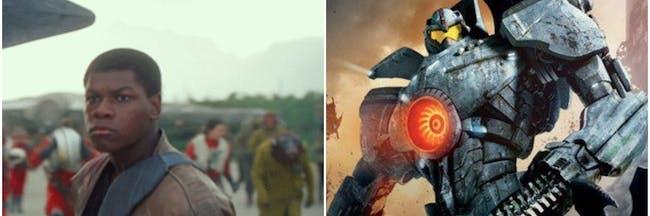 John Boyega Jaeger Pacific Rim: Uprising Photo Debut