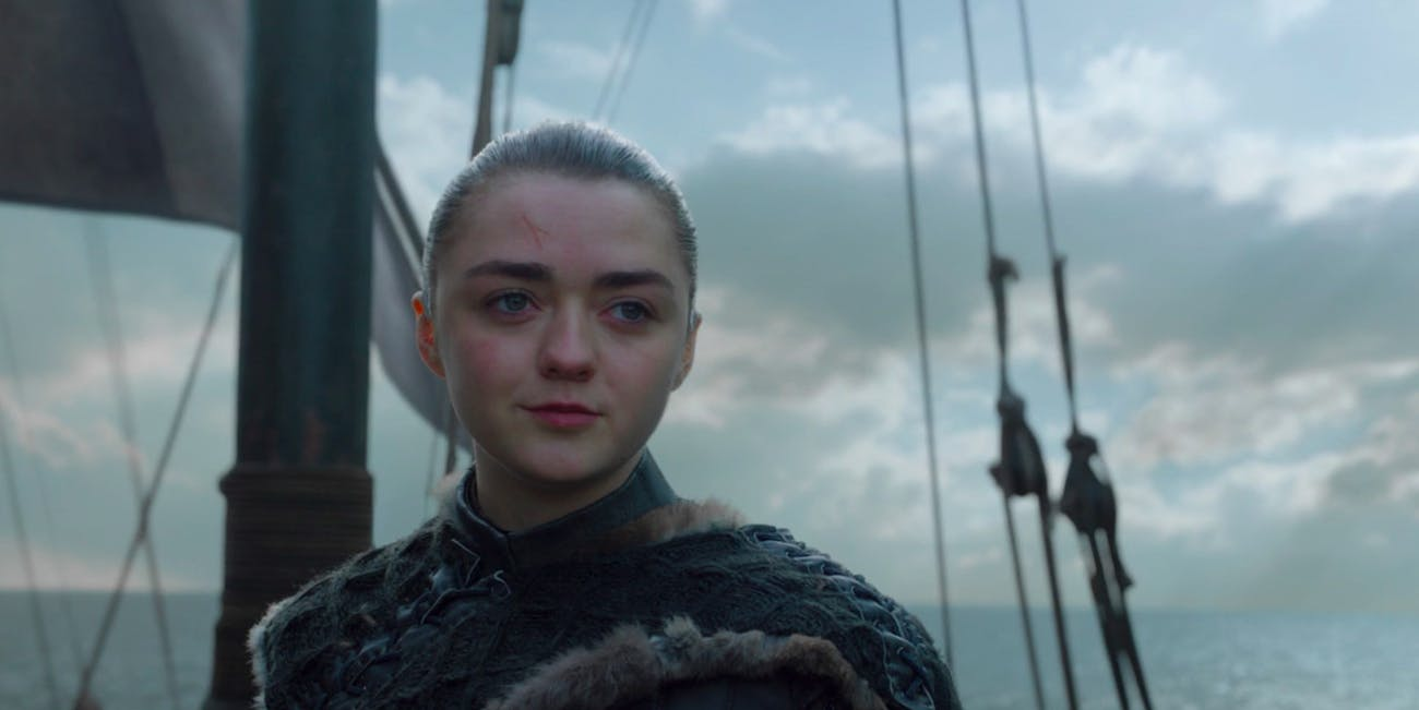Game of Thrones Finale Arya Stark
