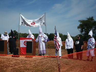 "Anonymous's ""Ghost Squad"" Shuts Down a KKK Website With DDoS Attack"