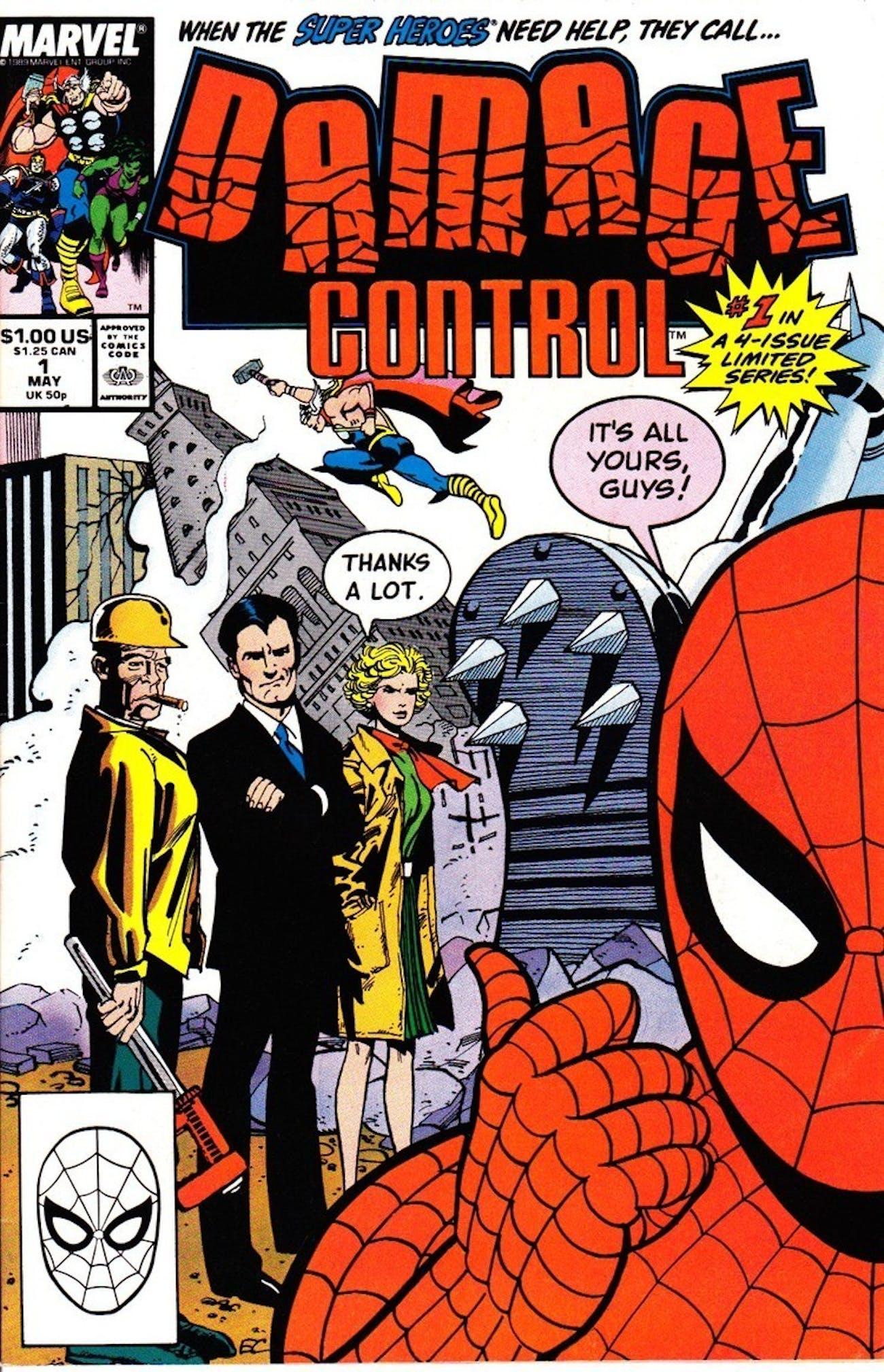 Damage Control Marvel Spider-Man Homecoming