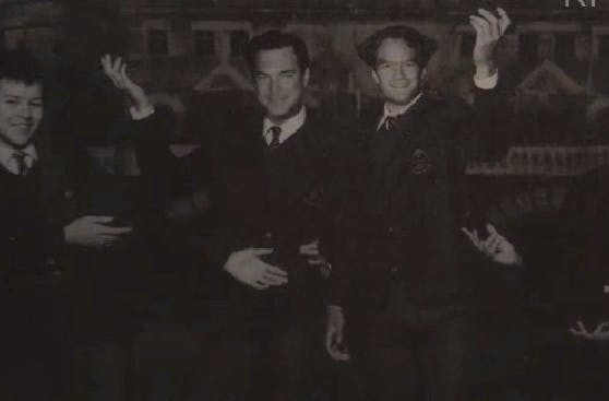 Snicket and Olaf as young men