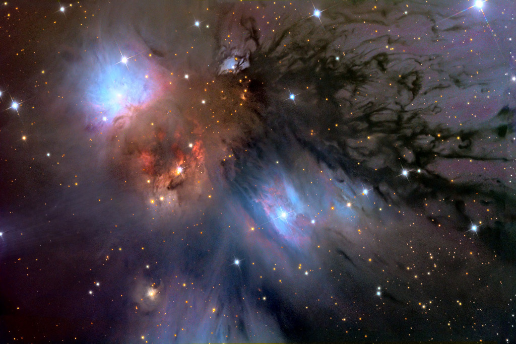 NGC 2170 is the perfect habitat for new stars to form.