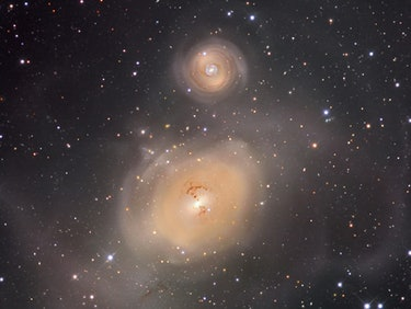 A Cosmic Collision Spawned This Cannibalistic Monster Galaxy