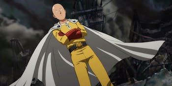 Saitama in 'One Punch Man'