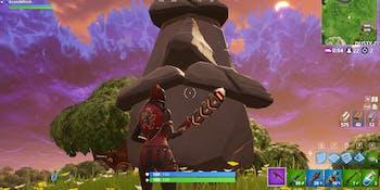 'Fortnite' stone head