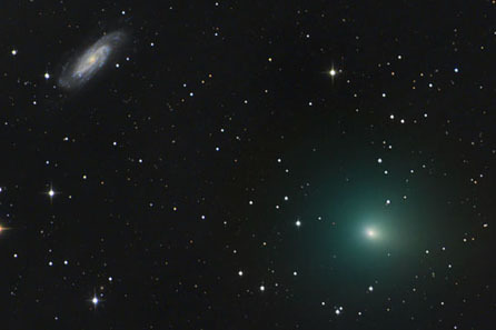 Comet 41P will make a close encounter to Earth in late March and early April.