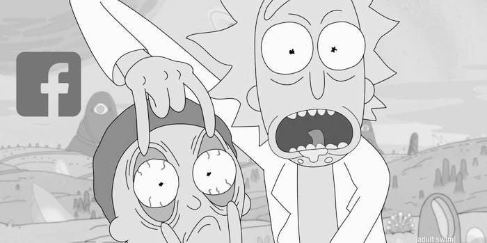 'Rick and Morty' Facebook Messenger stickers are here to get you squanched for Season 3.