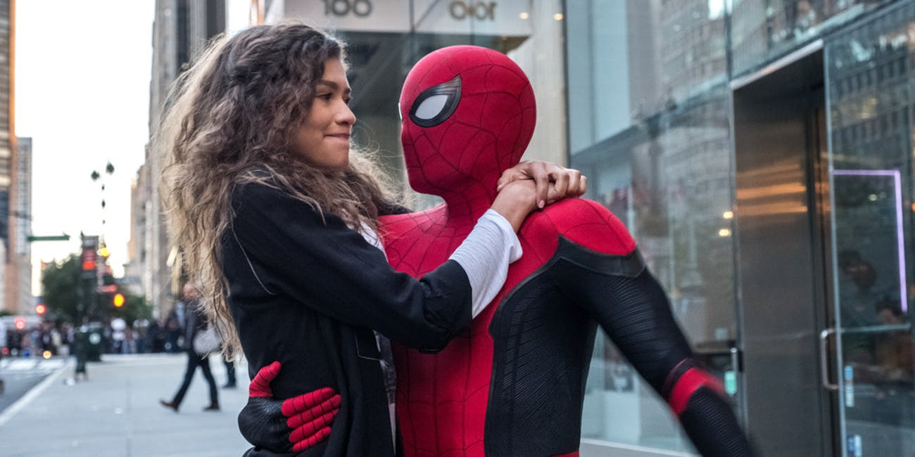 Spider-Man Far From Home Post Credits Unmasking