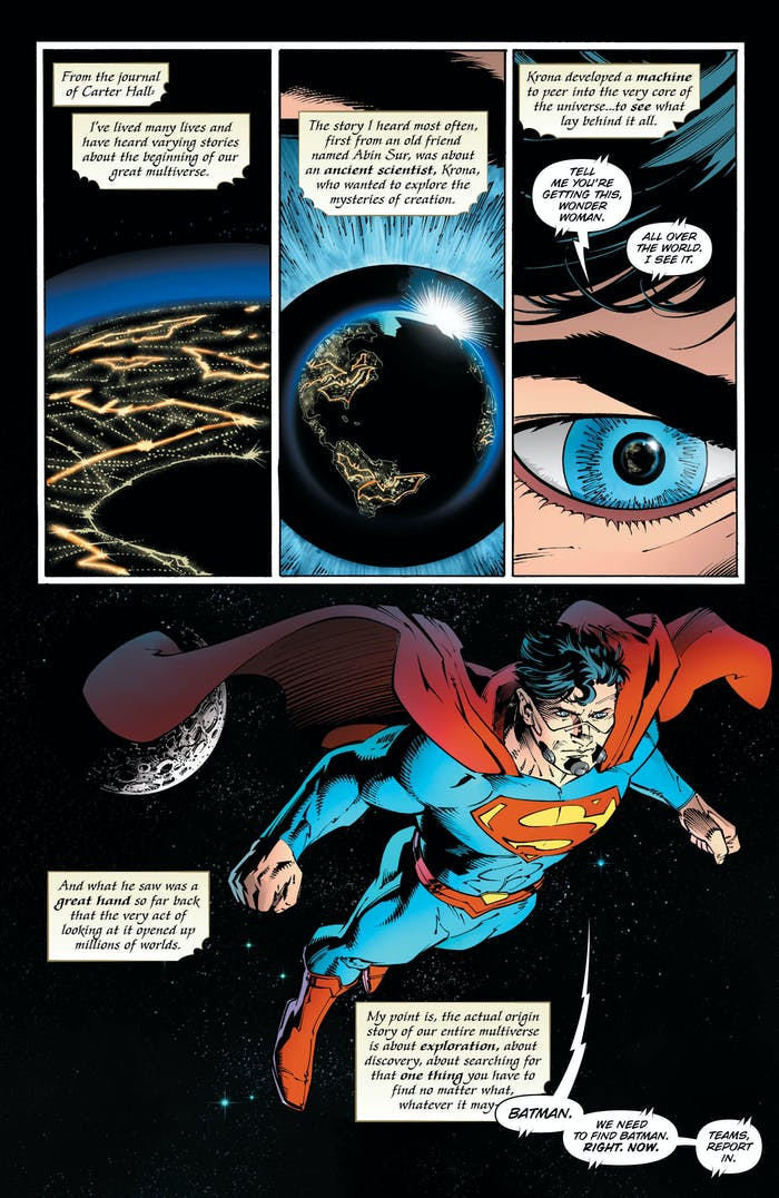 Batman Dark Knights Metal Superman