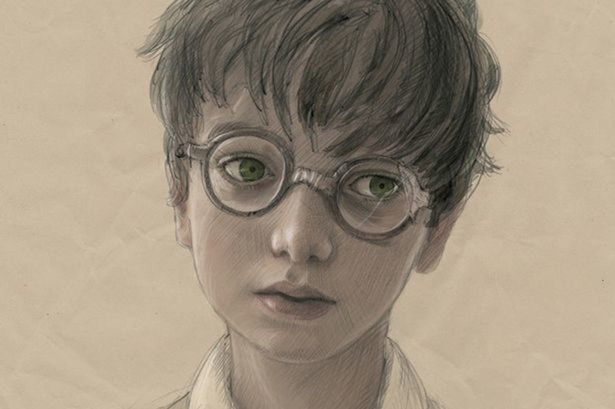 Harry Potter Sketch J.K. Rowling