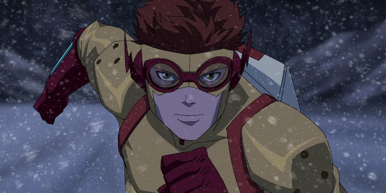 Young Justice Wally West