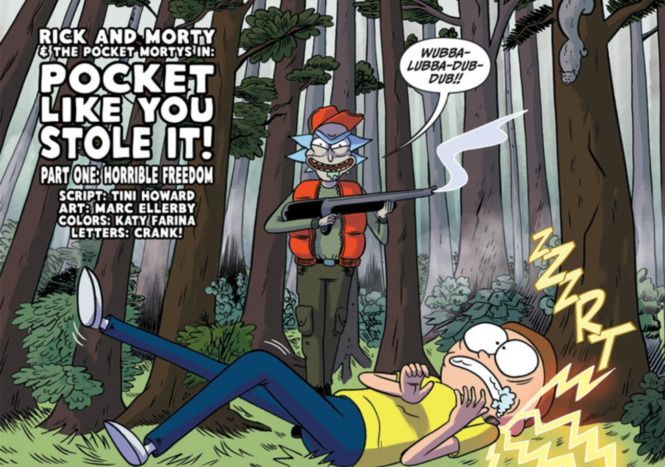 In 'Pocket Like You Stole It,' Ricks are the hunters and Mortys are the hunted.