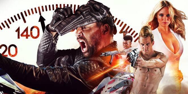 Death Race 2050 starring Manu Bennett