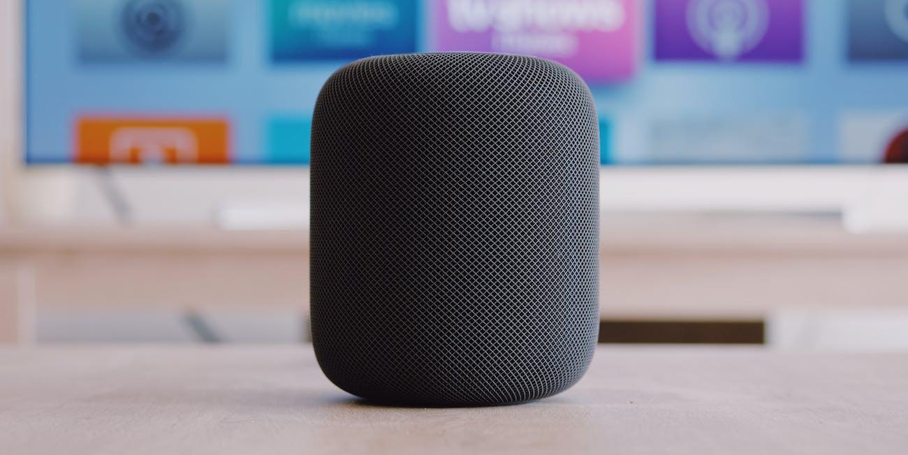 apple homepod speaker siri