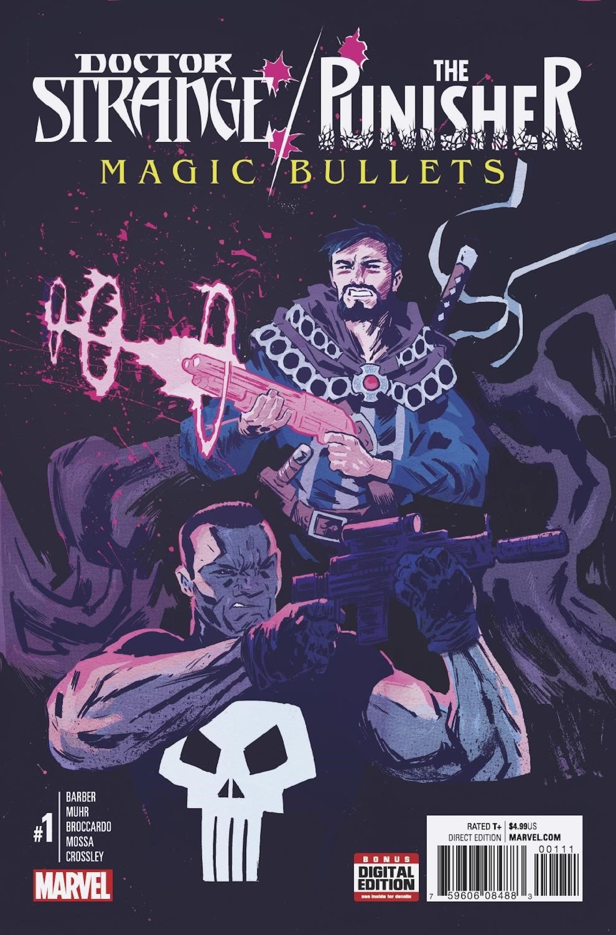 Cover of 'Doctor Strange/Punisher' #1.
