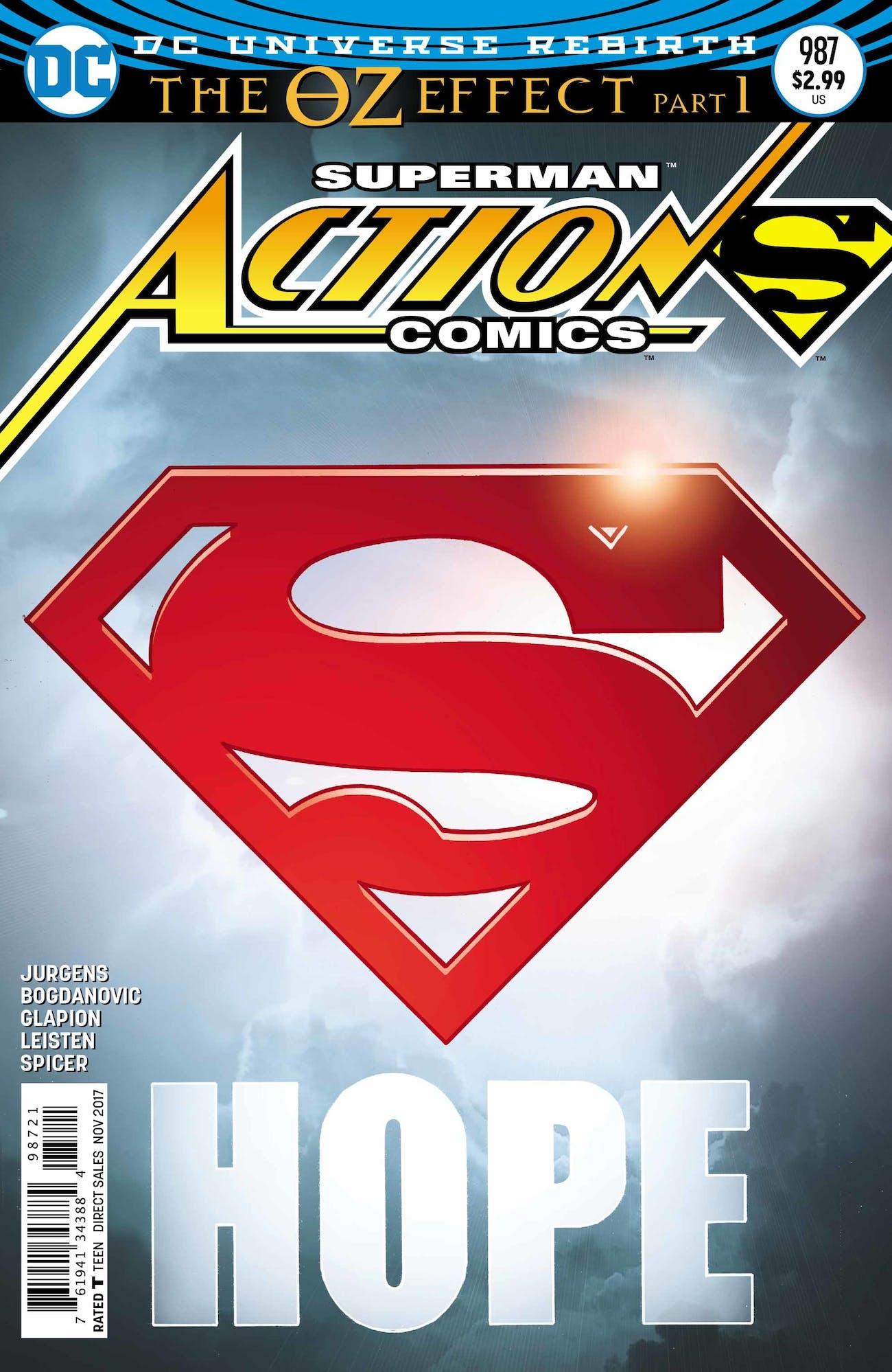 DC Action Domics Superman Immigrants